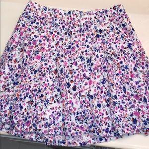 Candie's Floral Skater Skirt